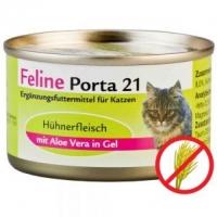 Feline Porta 21: Hühnerfleisch mit Aloe (156g)