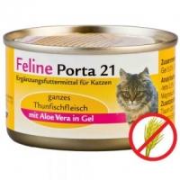 Feline Porta 21: Thunfisch mit Aloe (156g)