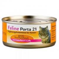 Feline Porta 21: Thunfisch mit Surimi-Krebs (156g)