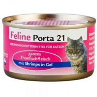 Feline Porta 21: Thunfisch mit Shrimps (156g)