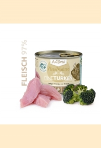 "AniForte® PureNature FineTurkey ""Truthahn & Brokkoli"" 200g feines Menü"
