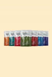 4 Sorten Geflügel mit Grünlippenmuscheln, Distelöl & Aloe Vera (85g)