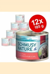 3 Sorten Fisch pur in 185g-Dosen für Hunde & Katzen - AKTION